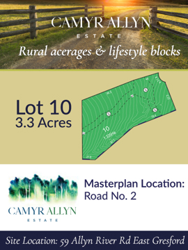 Lot 10 - Camyr Allyn Estate