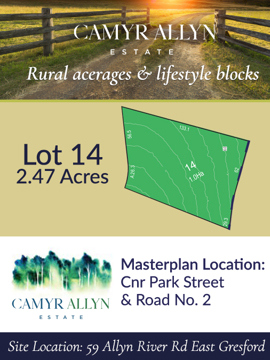 Lot 14 - Camyr Allyn Estate