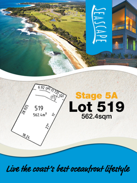 Lot 519 - Seascape Village